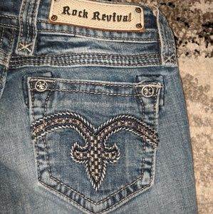 🌸Rock Revival size 25 Alanis jeans like new!🌸
